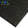 High EPDM Content Gym Rubber Tiles
