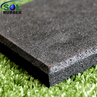 Wholesale Fine SBR Granules Sport Courts Rubber Floor