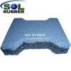 Dog Bone Outdoor Rubber Tile