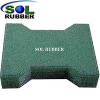 Dogbone rubber mat Rubber Paver