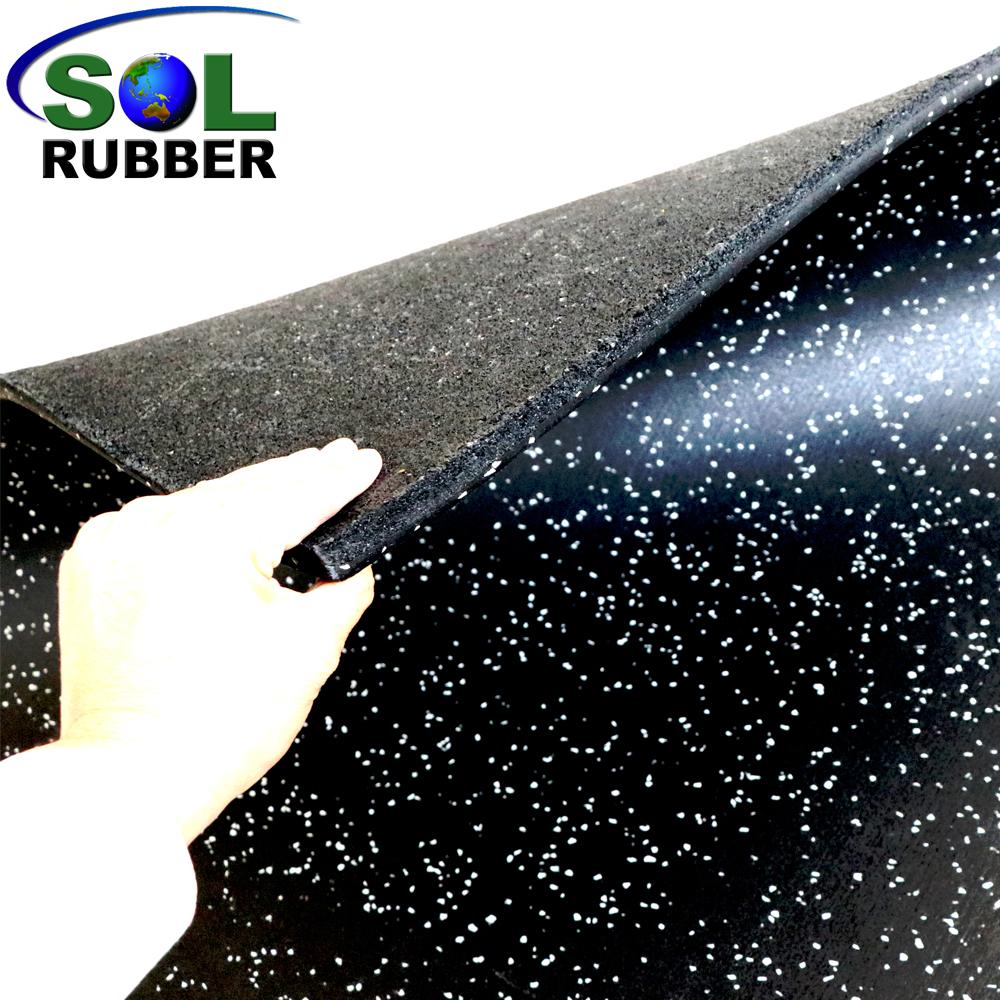 SOL RUBBER GYM RUBBER FLOORING TILES MAT (25)