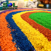 EPDM rubber Tire Granules For Running Track Surface