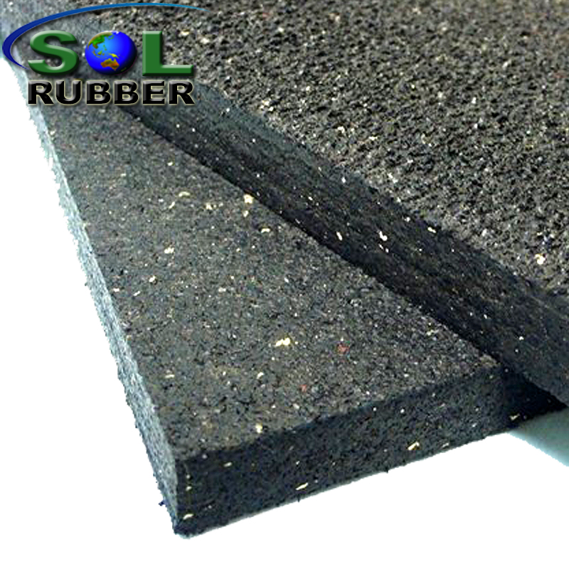 15mm Commercial Fitness Rubber Flooring
