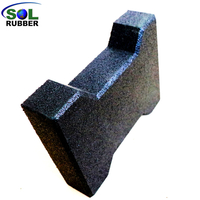 SOL RUBBER High Density Dog Bone Equine Horse Rubber Paver Tiles