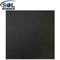 All Small Sbr Granules Rubber Mat