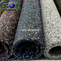 8mm Fitness Rolls Rubber Flooring Inc
