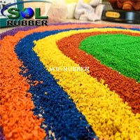 Playground EPDM Rubber Granules