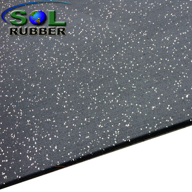 Roll rubber flooring Commercial rubber flooring