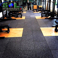 Heavy Duty Gym Rubber Mat