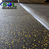 Fire Resistance High Density Gym Rubber Flooring