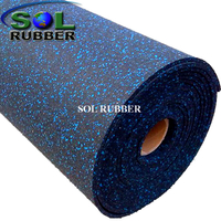 Commerical Fitness Rubber Rolls Flooring
