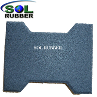 Walkway Tile Outdoor Rubber Pavers