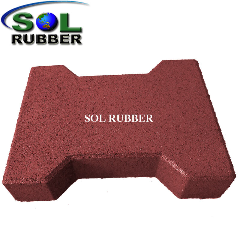 I-shaped Use for Horse Rubber Tile