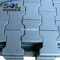 25mm Horse Barn Rubber Paver