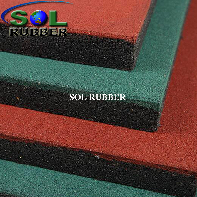 Kids Playground Safety Out Door Rubber Tile