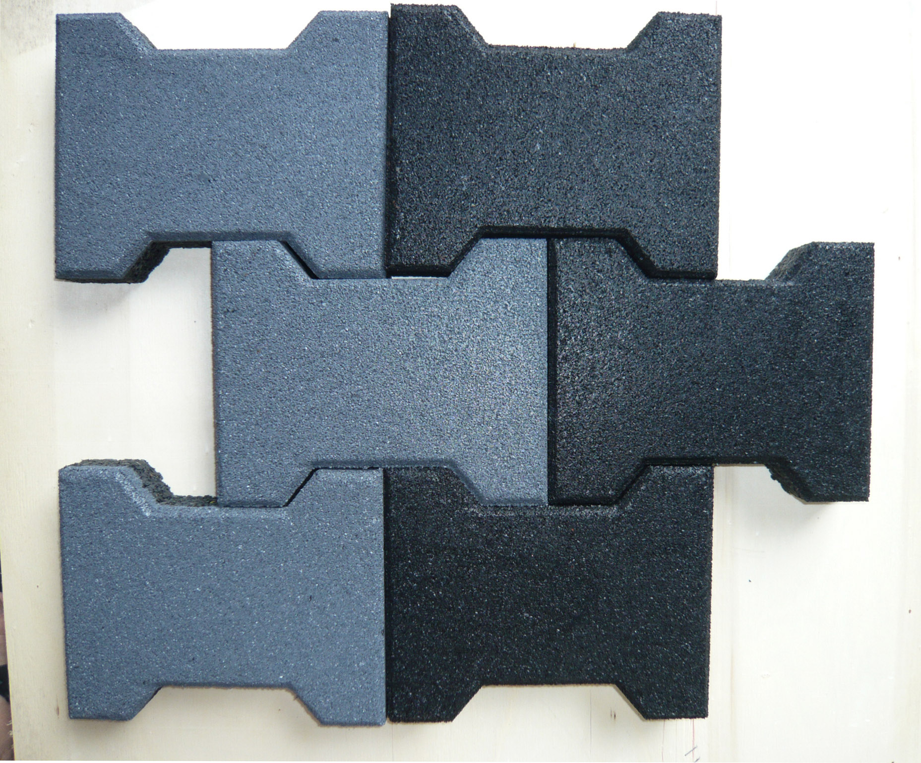 SBR Granules Recycled Rubber Pavers