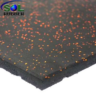Aging Resistance Rubber Gym Flooring