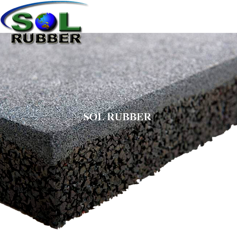 Customized Color Cheap Outdoor Rubber Flooring